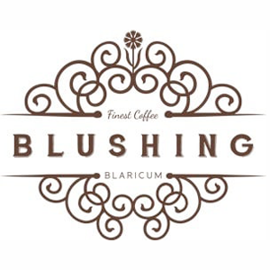 blushing